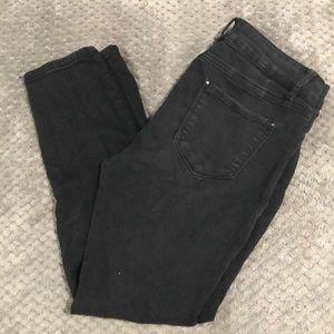 Stretchy black skinny jeans